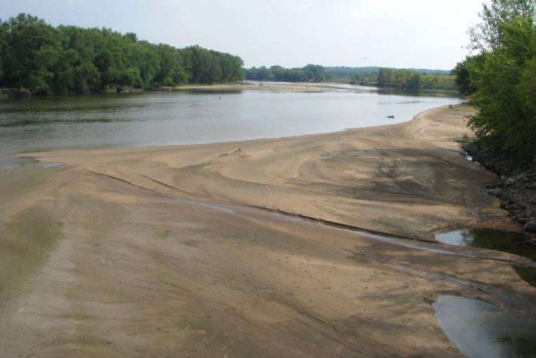 Cedar River Sandbar Palo