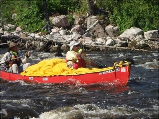 Vern Fish Iowa Rose Canoe
