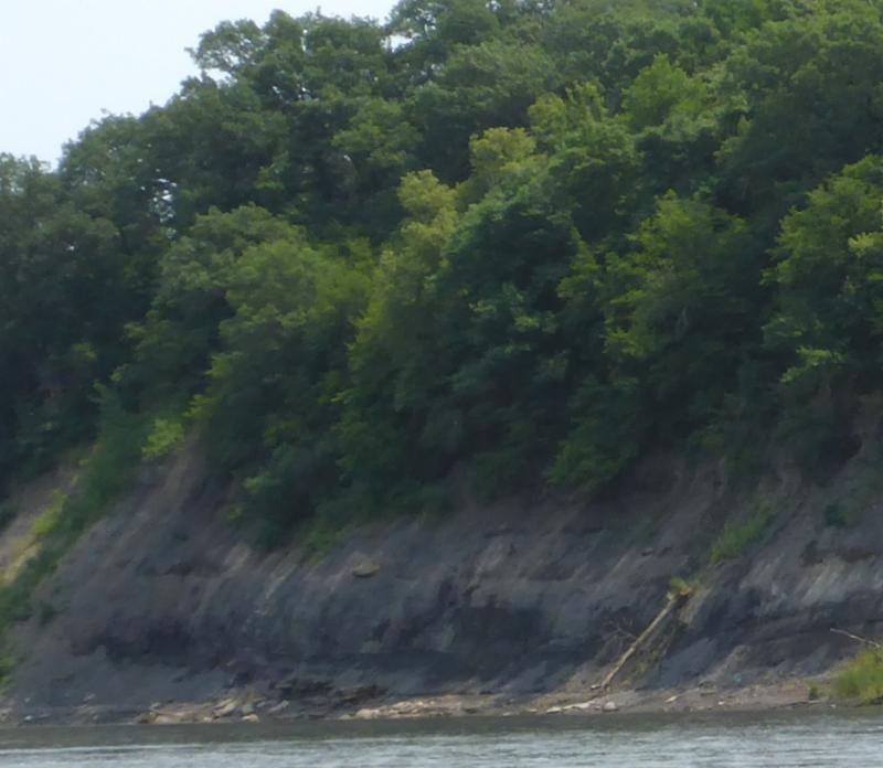 Des Moines River Coal Bank David Hillman