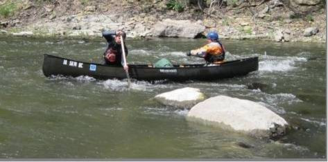 Canoe School on Boone River