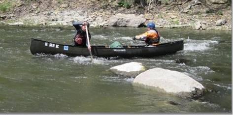 Canoe School on Boone River