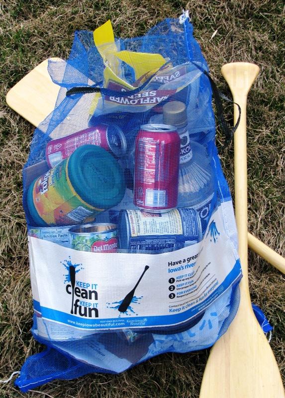 IDNR Blue Trash Bag