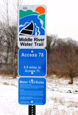 Middle River WT Sign