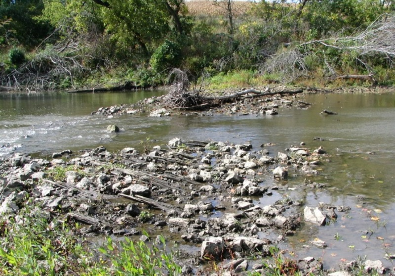 Wapsi Crib Dam Remnants GStark