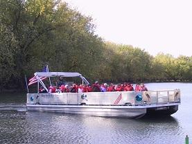 Blue Heron Boat Clinton CCB
