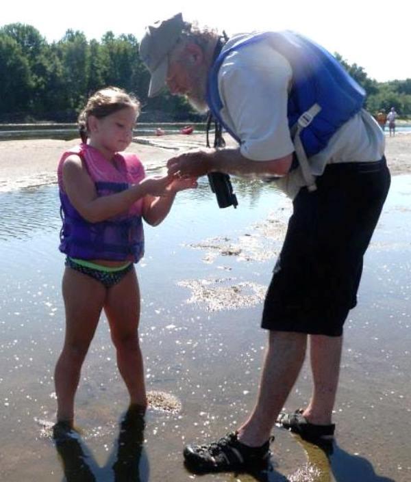 Jim Pease on Iowa River WT
