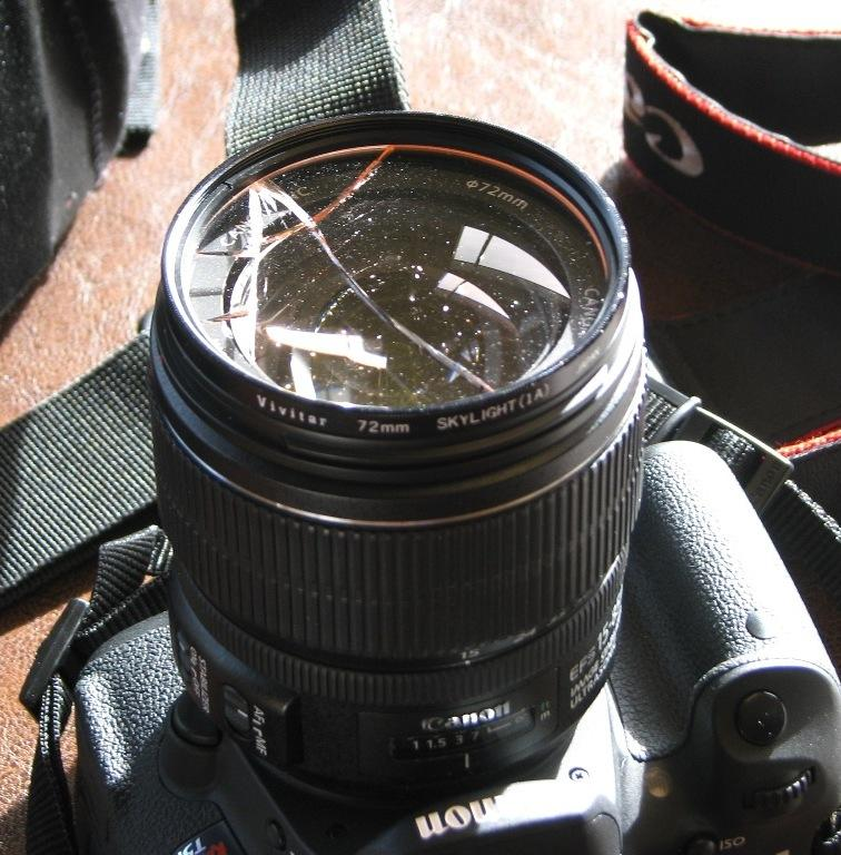 Canon T5i Broken Filter