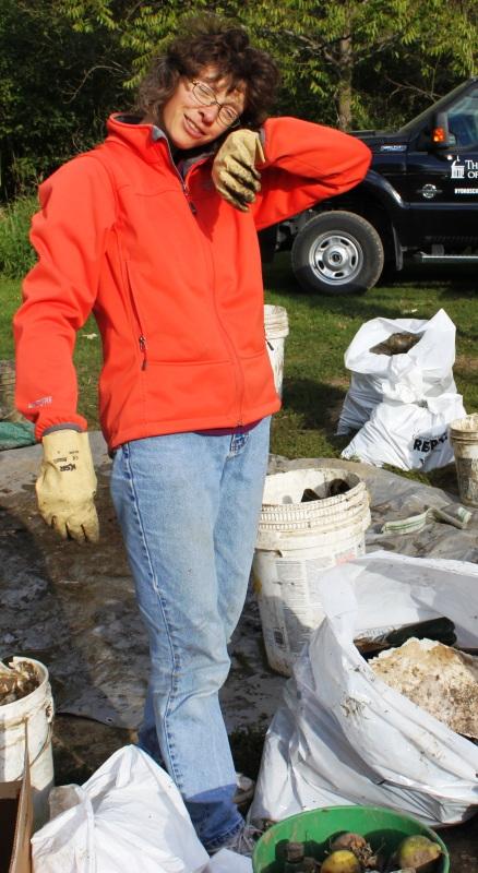 Wapsi Cleanup 2012 Scrap Sorter