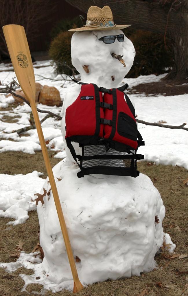 Snowman Paddler G.Stark