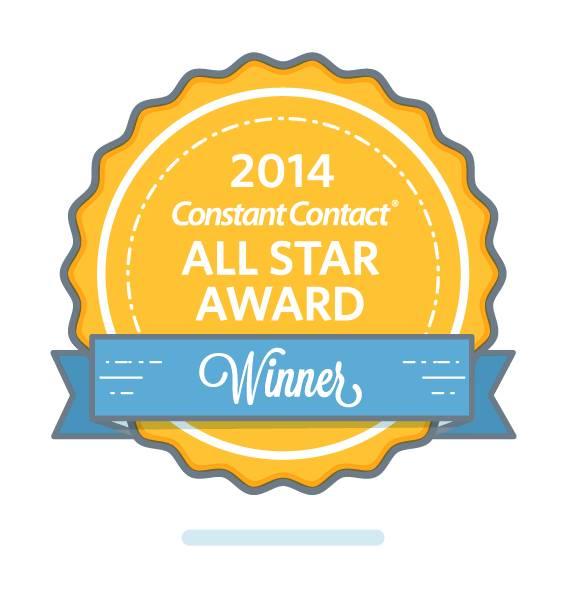 Constant Contact Award 2014