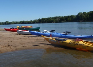 Iowa River Float LouisaCCB