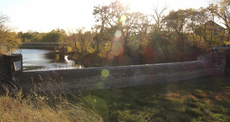 Quaker Mill Dam and Downstream G.Stark