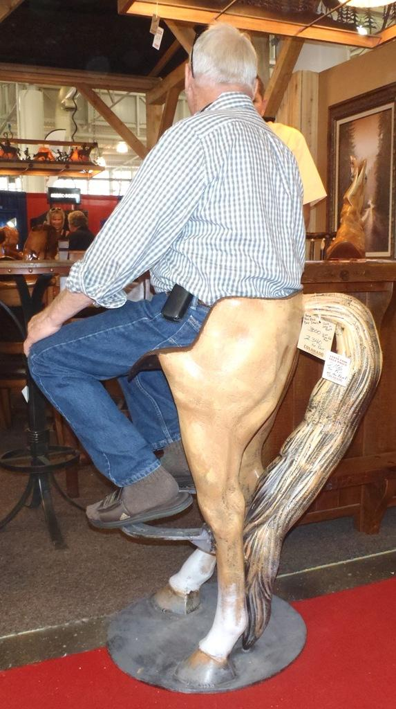 Iowa State Fair Horse Chair G.Stark
