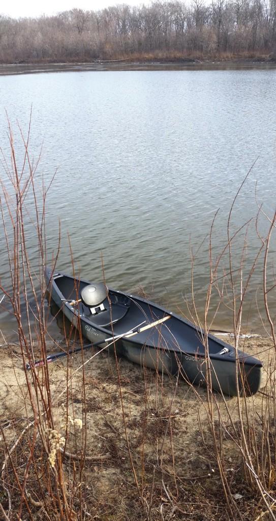 Lost Canoe Wide Shot