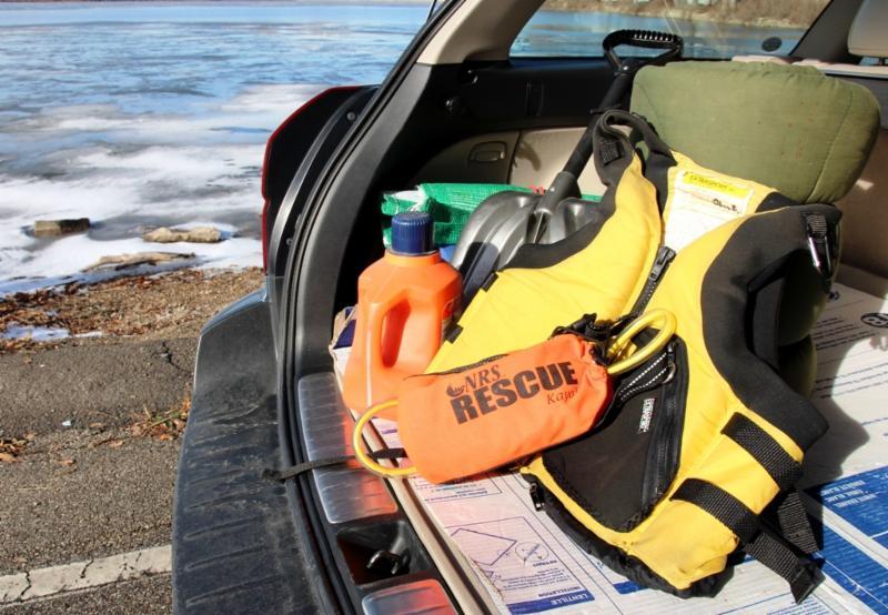 Ice Rescue Gear