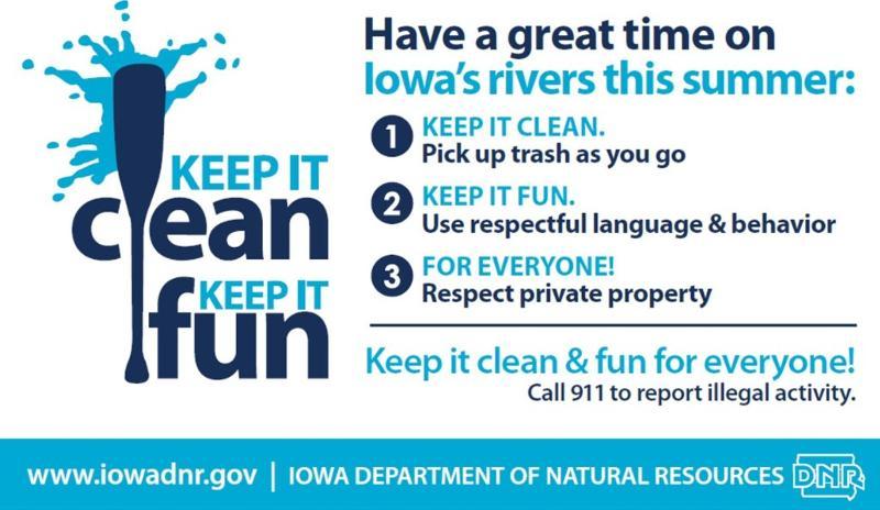 Keep It Clean Sticker IDNR