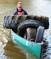 Iowa River Cleanup 2012