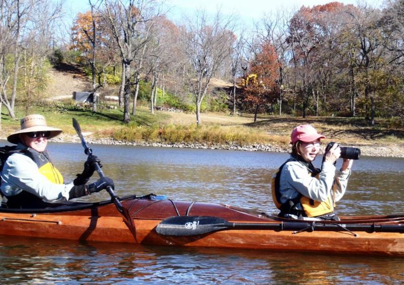 Bill & Joyce Schoon on Cedar