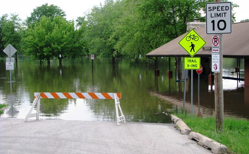 Ellis Blvd Flooding
