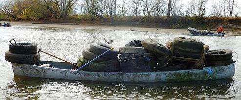 Iowa River Cleanup