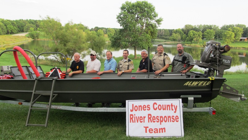 Jones Co Rescue Boat