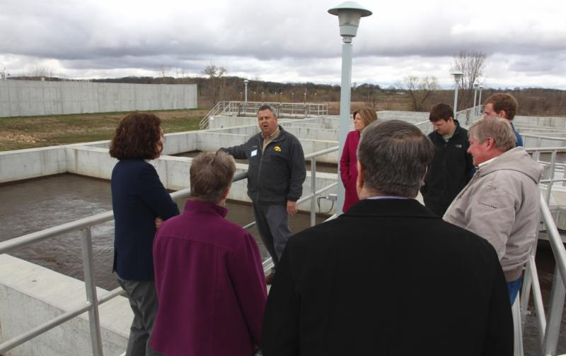 Clinton Water Treatment Tour