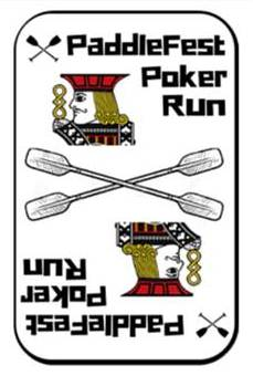 PaddleFest Poker Run Logo