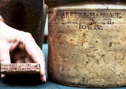 Bonaparte Pottery Side