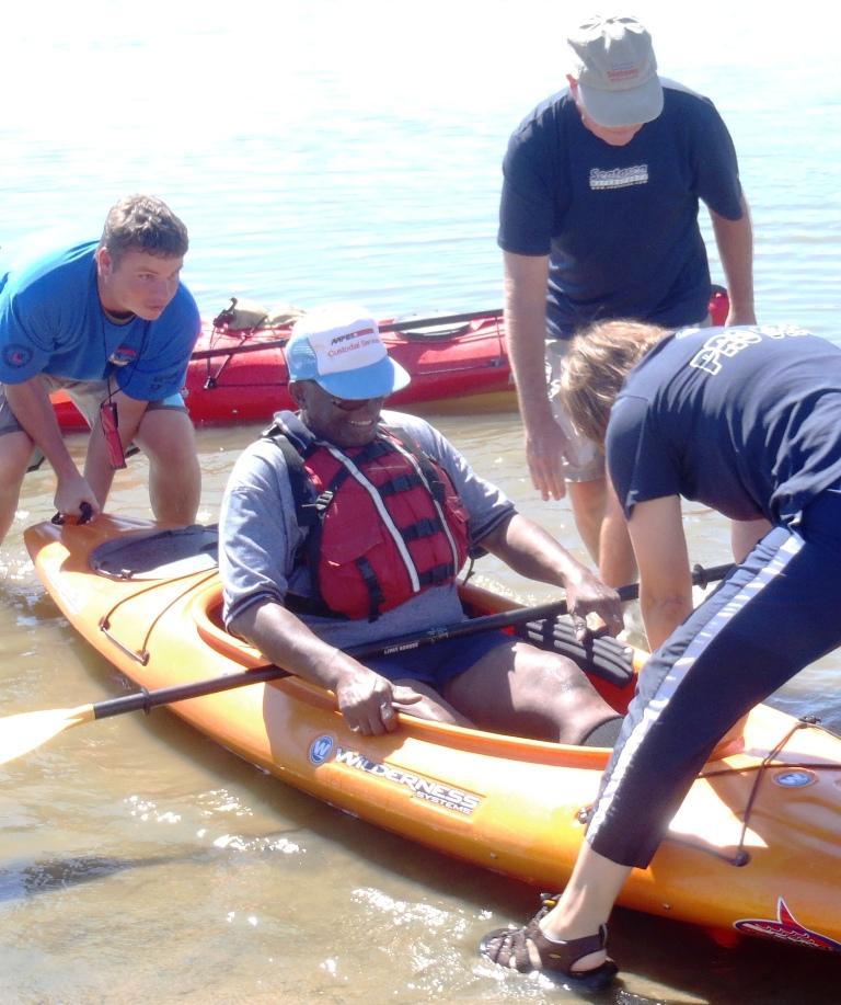 Vets Paddle Riverside Footpegs GStark