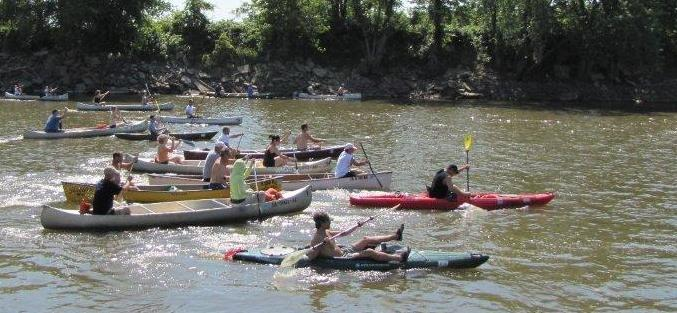 Great Iowa River Race Pack Lori Schrodemier