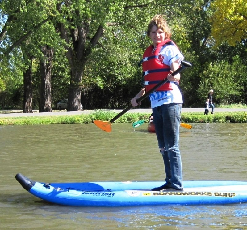 Outdoor Expo 2012 SUP