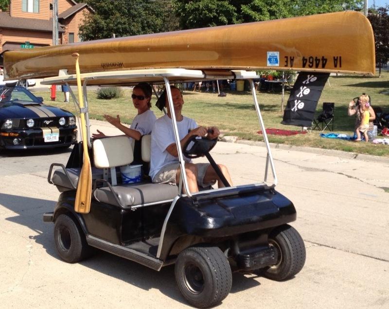 Purckerbrush Golf Cart