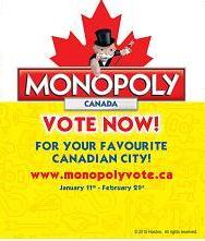 Monopoly Vote Oshawa