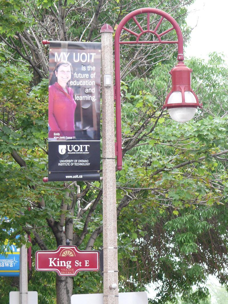 UOIT Banners