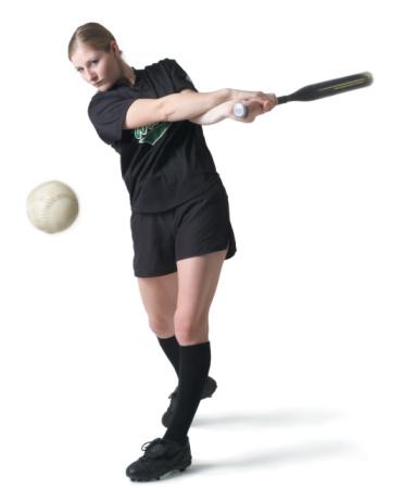 woman softball