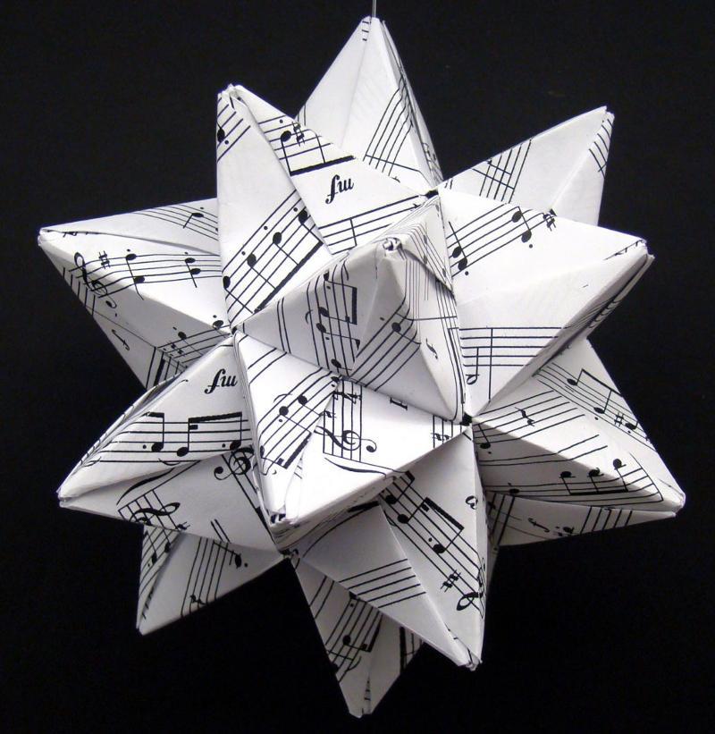 Sheet music star