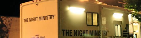 The Night Ministry bus
