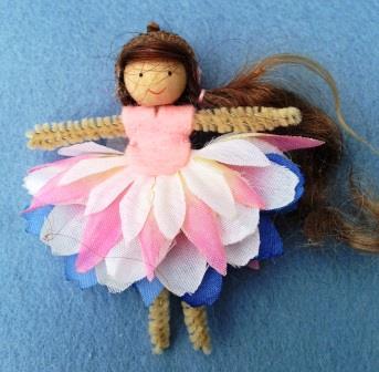 Flower Fairy - Spring crafts at Heartfelt.