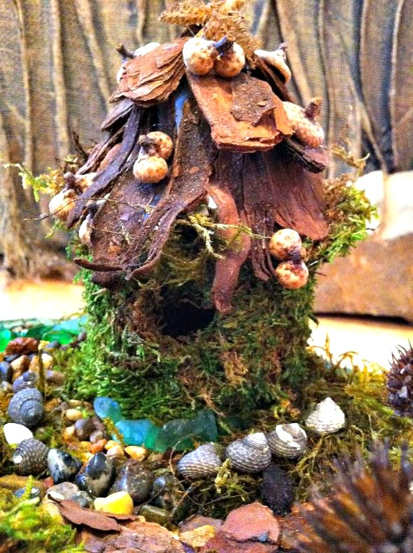 Fairy House - Spring crafts at Heartfelt.