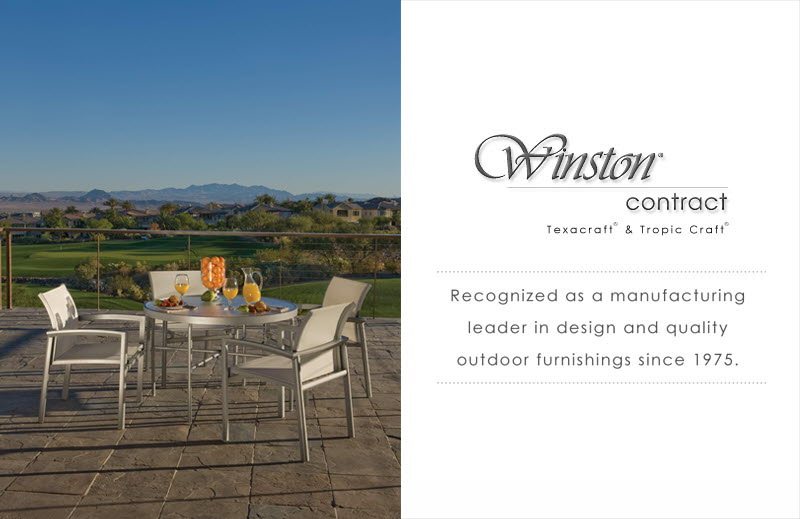 Winston Contract Outdoor Furniture