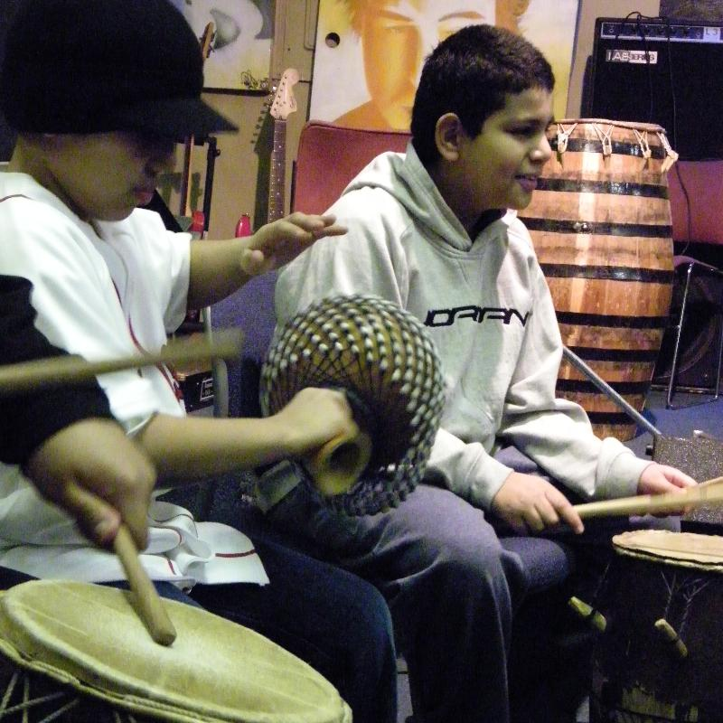 African Drumming at ZUMIX