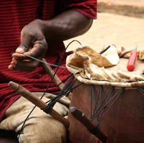 African drum heading