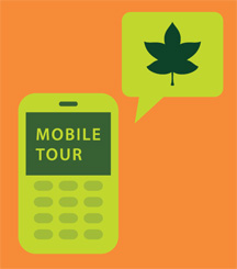 Cell phone tour logo