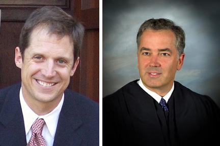 Alan Townsend and Judge John Jones