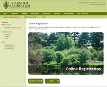 Online Registration Page