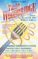 Taste of Woodbridge Flyer 2011