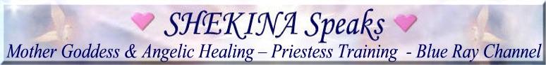 Shekina speaks banner1