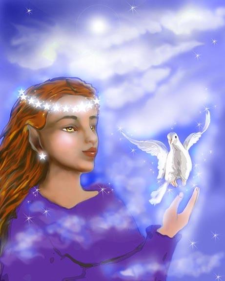She Dreams of Peace