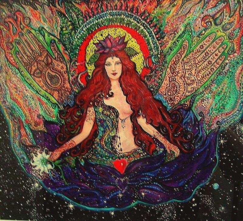 The Mehndi Goddess