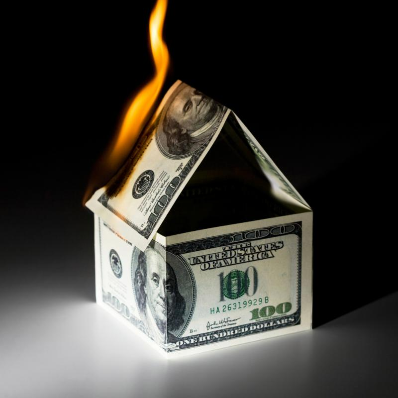 Burning House Money